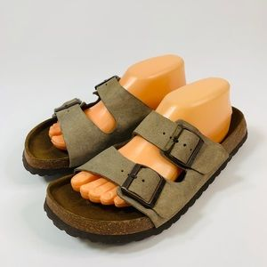 Birkenstock Betula Taupe Arizona Sandals